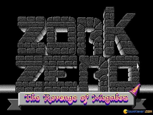 Zork Zero - title cover