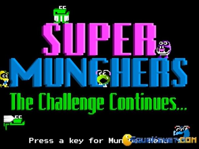 Super Munchers - title cover
