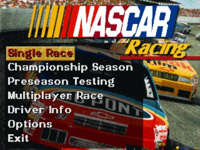 Nascar Racing - game cover