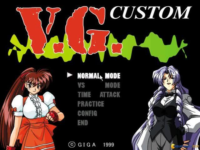 V.G. Custom - Variable Geo Custom - title cover