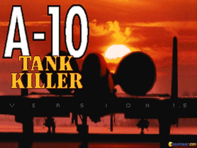 A-10 Tank Killer v1.5 - title cover