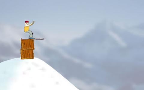 Ski Stunt Simulator - title cover