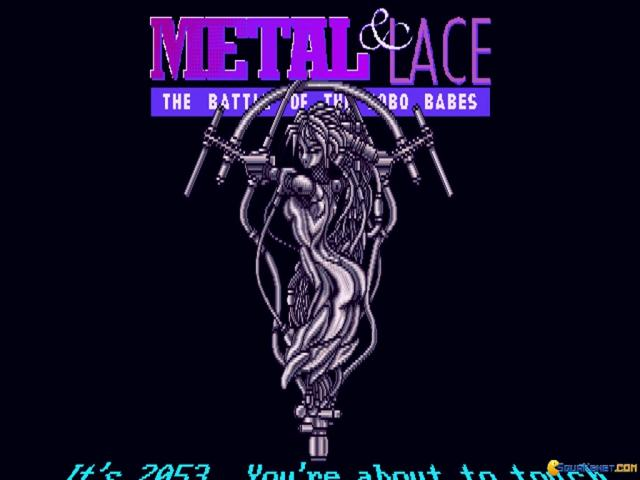 Metal And Lace: The Battle of the Robo Babes - title cover