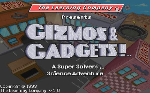 Super Solvers: Gizmos And Gadgets - title cover