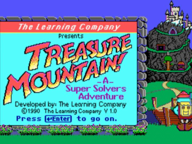 Super Solvers: Treasure Mountain - game cover