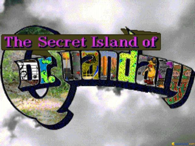 The Secret Island of Dr. Quandary - title cover