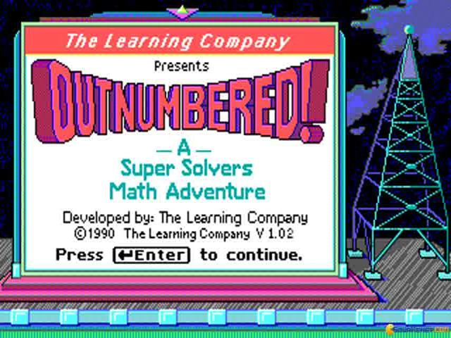 Super Solvers: Outnumbered! - title cover