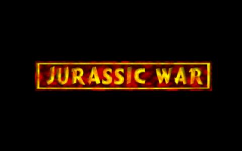 Jurassic War - title cover