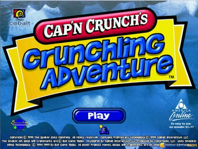 Crunchling Adventure - game cover