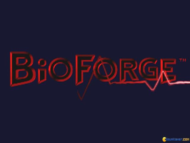 BioForge - title cover