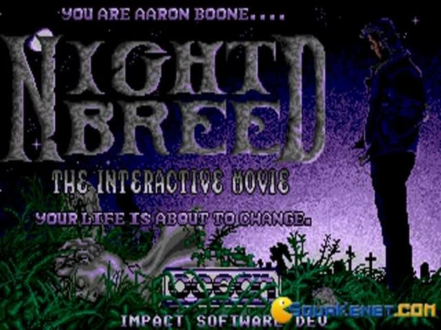 Night Breed: The Interactive Movie - game cover