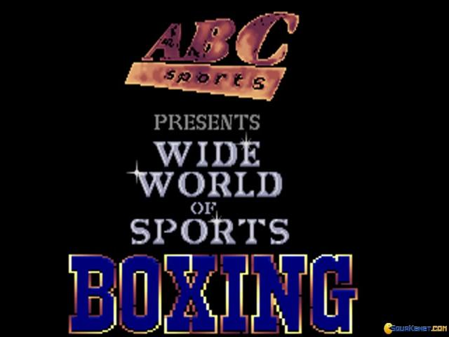 ABC Wide World of Sports Boxing - title cover