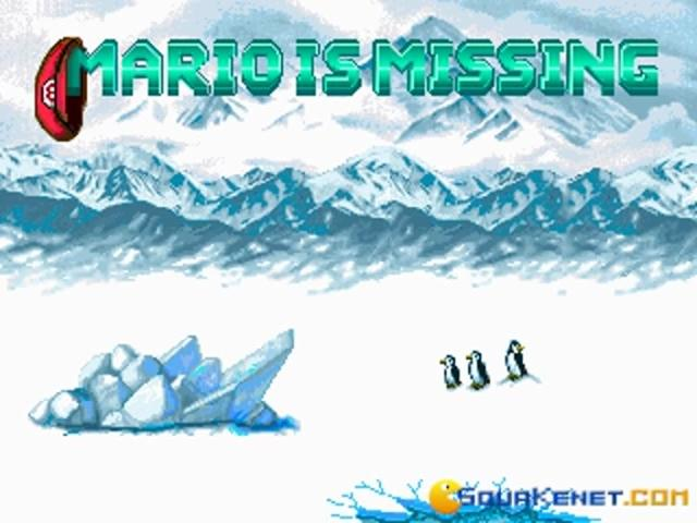 Mario is Missing - title cover