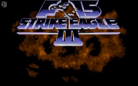 F-15 Strike Eagle III - title cover