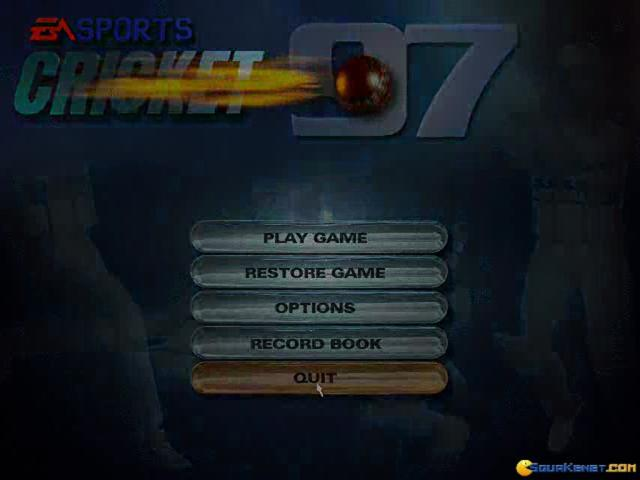 Cricket 97 - game cover