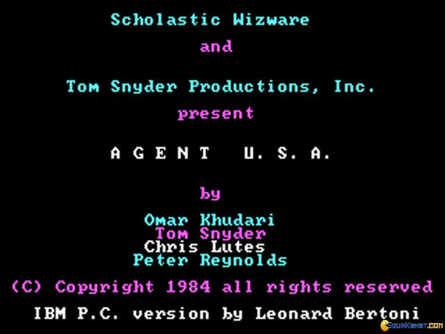 Agent USA - title cover