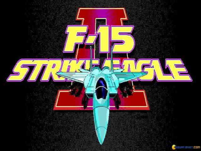 F-15 Strike Eagle II - title cover