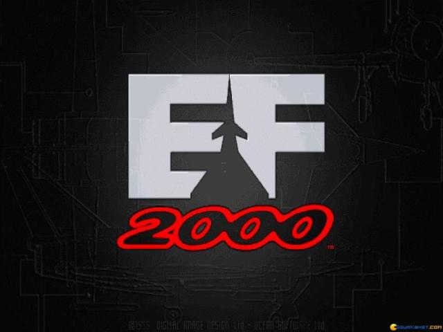 Super EuroFighter 2000 - game cover