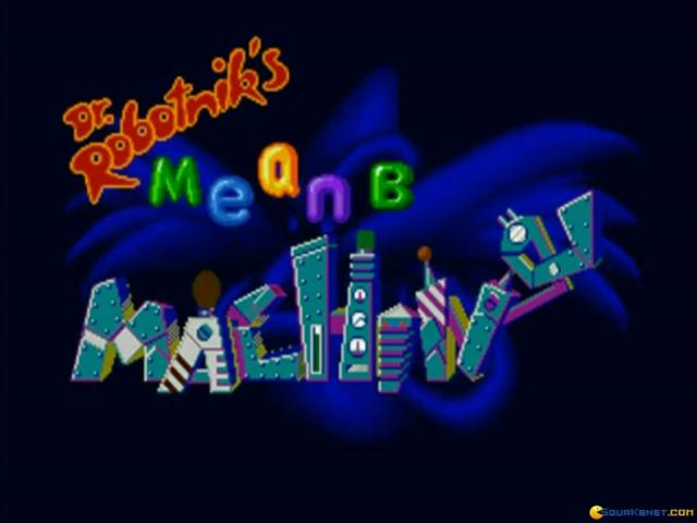Dr. Robotnik Mean Bean Machine - title cover