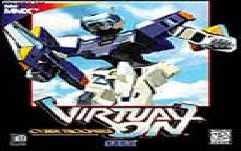 Virtual On Cybertroopers - title cover