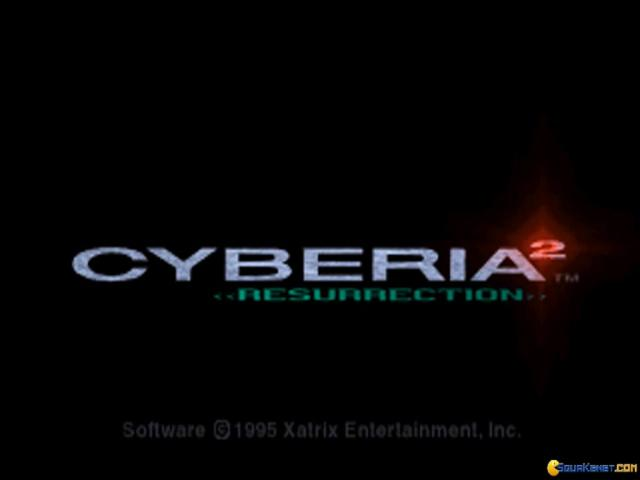 Cyberia 2: Resurrection - title cover