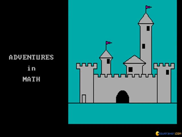 Adventures in Math - title cover
