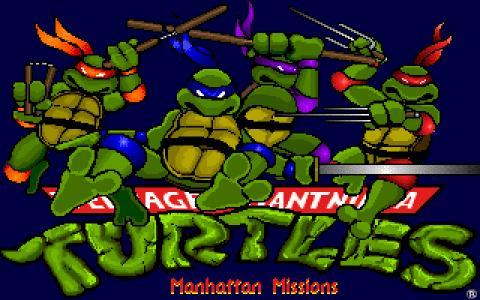 Teenage Mutant Ninja Turtles 3: The Manhattan Project - game cover