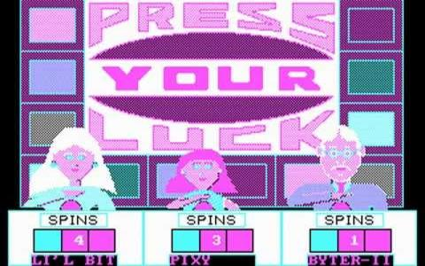 Press Your Luck - game cover