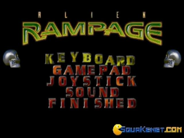 Alien Rampage - game cover