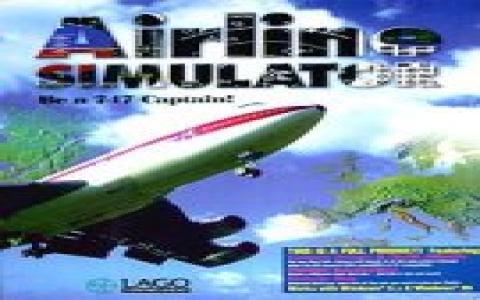 Airline Simulator 97 - title cover