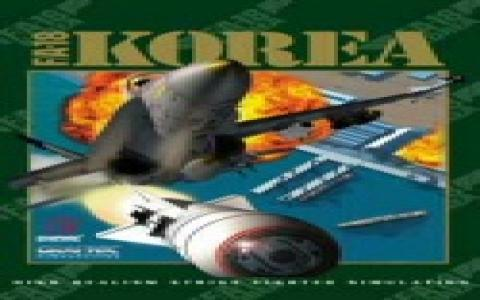 FA-18 Korea - game cover