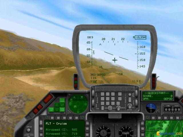 F-16 Fighting Falcon (1996) - PC Game