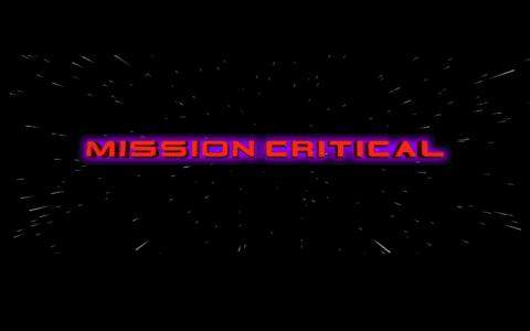 Mission Critical - title cover