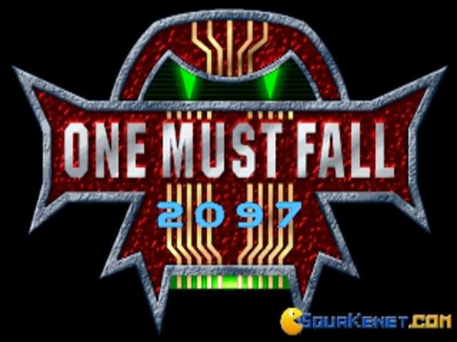 One Must Fall 2097 - game cover