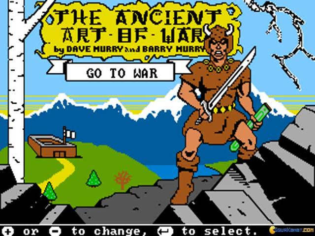 Ancient Art of War - game cover