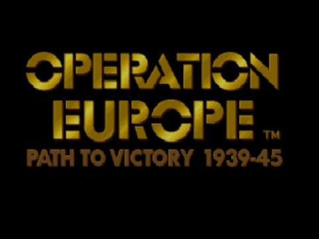 Operation Europe - game cover