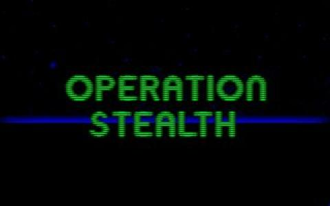 Operation Stealth - title cover
