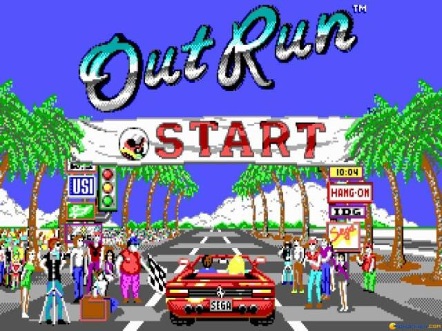 Outrun - game cover