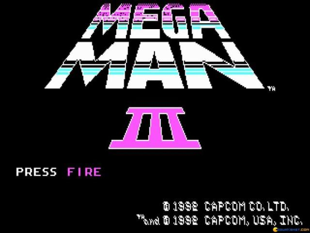 Mega Man 3 - game cover