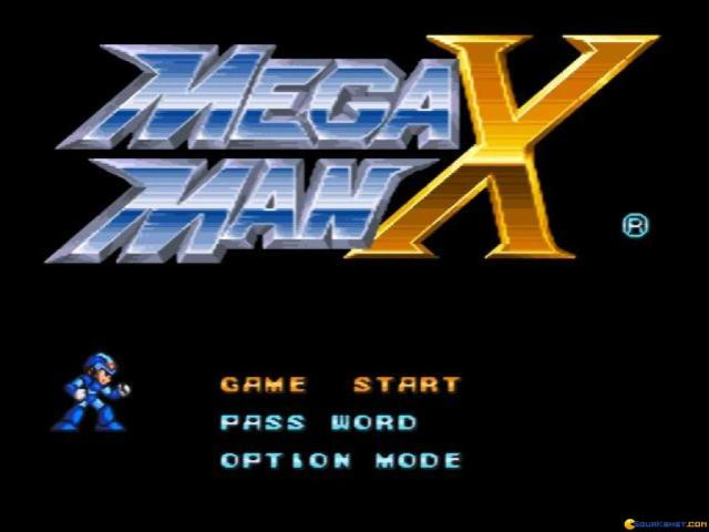 Mega Man X - game cover