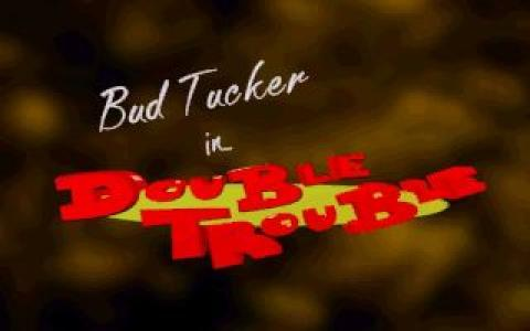 Bud Tucker in Double Trouble - title cover