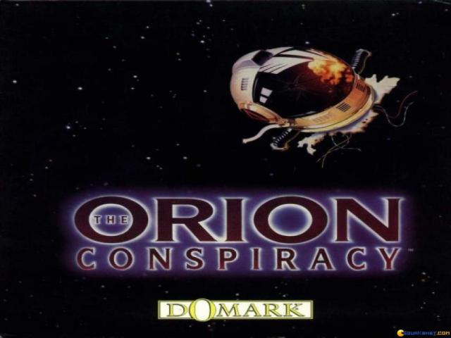 Orion Conspiracy - title cover