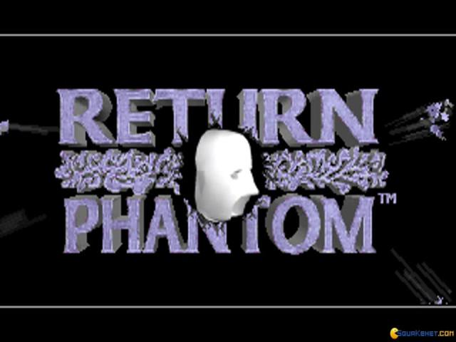 Return of the Phantom - title cover
