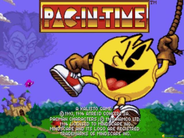 Pac in Time - title cover