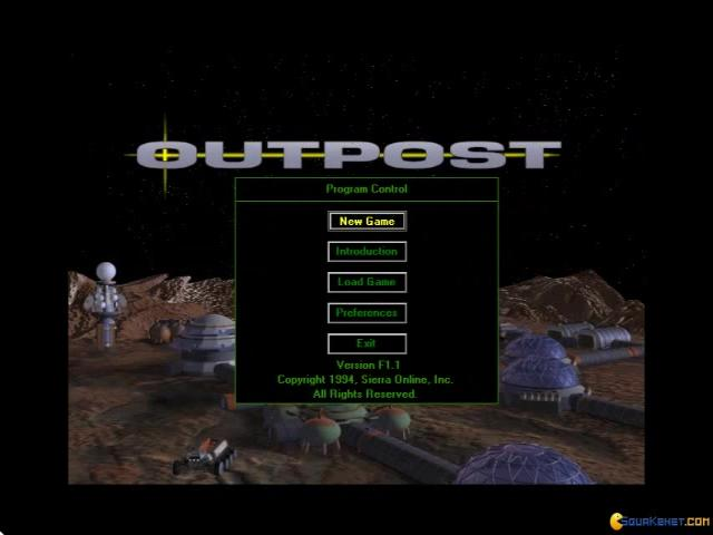 Outpost - game cover