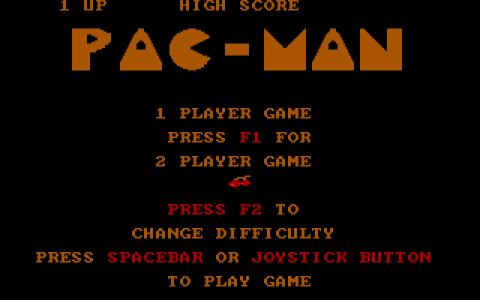 Pac Man - title cover