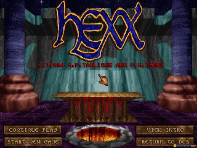 Hexx - title cover