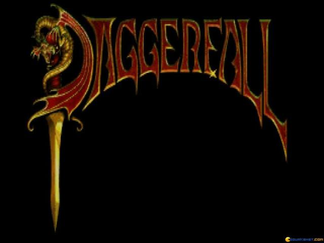 The Elder Scrolls: Daggerfall - title cover