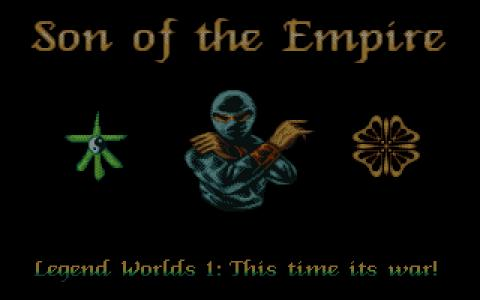 Worlds of Legend: Son of the Empire - title cover