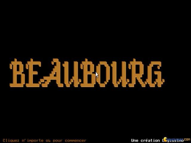 Beaubourg - title cover